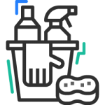 Green-Key-icons-cleaning